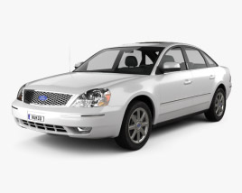 3D model of Ford Five Hundred 2007