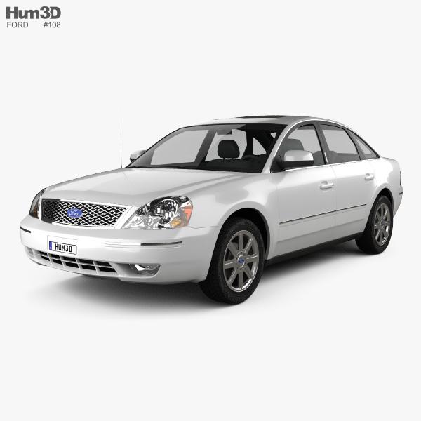 Ford Five Hundred 2007 3D model