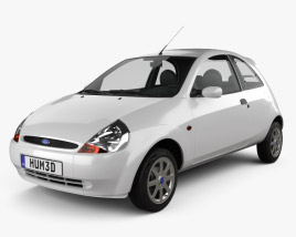 Ford Ka 2003 3D model