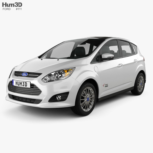 3D model of Ford C-MAX Energi 2012