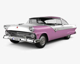 Ford Crown Victoria 1955 3D model