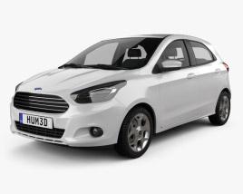3D model of Ford Ka concept 2013