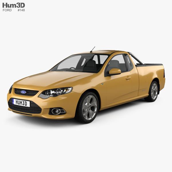 Ford FG Falcon XR6 UTE 2011 3D model