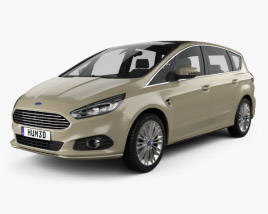 Ford S-Max 2015 3D-Modell