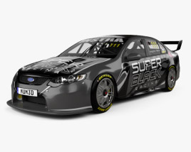 3D model of Ford Falcon (FG) V8 Supercars 2014