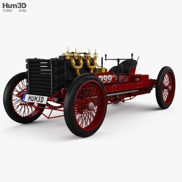 Ford 999 1902 3D model