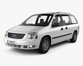 3D model of Ford Freestar 2003