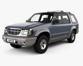 3D model of Ford Explorer 1994