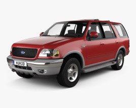 Ford Expedition 1998 3D model