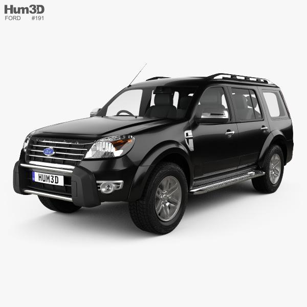 Ford Endeavour 2014 3D model