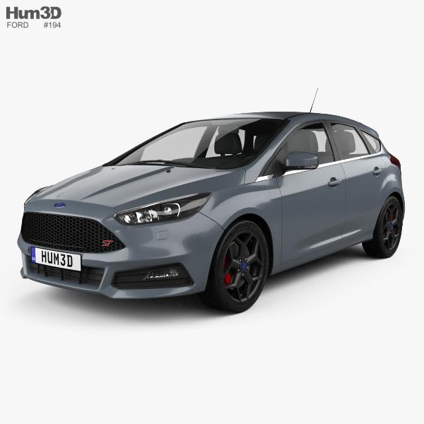 Ford Focus ST 2015 3D model