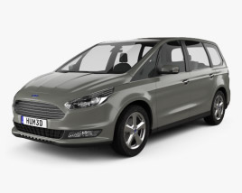 3D model of Ford Galaxy 2015
