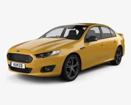 3D model of Ford Falcon (FG) XR8 2015