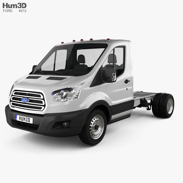 Ford Transit Cab Chassis 2014 3D model