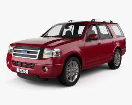 3D model of Ford Expedition Limited 2007