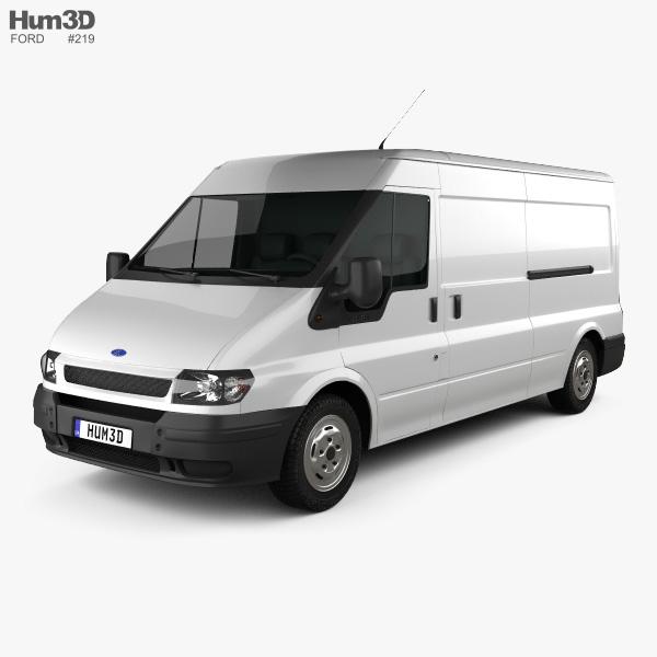 Ford Transit Panel Van 2000 3D model