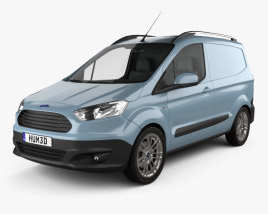 Ford Transit Courier 2015 3D model