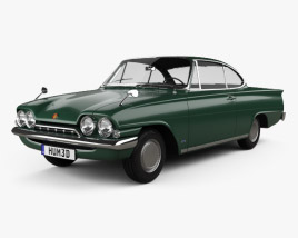 3D model of Ford Consul Capri 1961