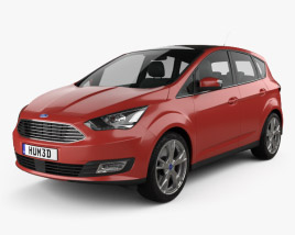 3D model of Ford C-Max 2015