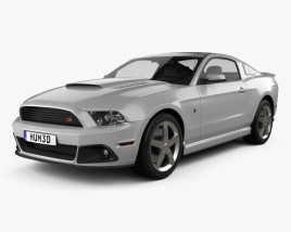 3D model of Ford Mustang Roush Stage 3 2013