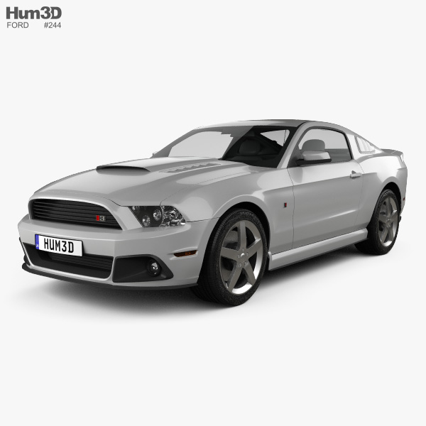 Ford Mustang Roush Stage 3 2013 3D model