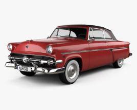 3D model of Ford Crestline Sunliner 1954