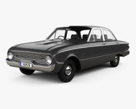 3D model of Ford Falcon 1960