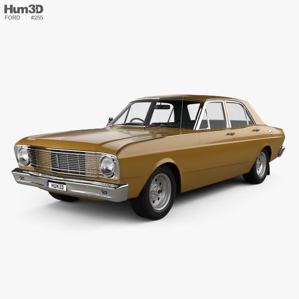 Ford Falcon 1968 3D model