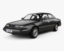 Ford Crown Victoria 1995 Modèle 3D