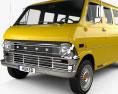 Ford E-Series Econoline Club Wagon 1971 3d model