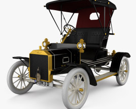 3D model of Ford Model N Runabout 1906