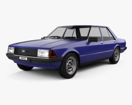 3D model of Ford Falcon 1979