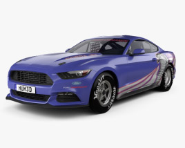 3D model of Ford Mustang Cobra Jet 2016