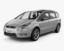 3D model of Ford S-Max 2006