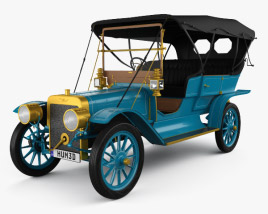3D model of Ford Model K Touring 1906