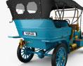 Ford Model K Touring 1906 3d model