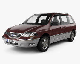 3D model of Ford Windstar 1999