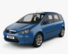 3D model of Ford C-Max 2007