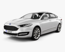 3D model of Ford Mondeo (Fusion) Vignale 2015