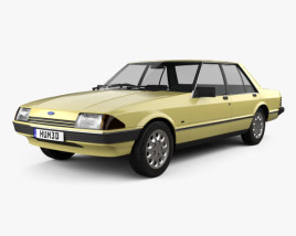 3D model of Ford Falcon 1982