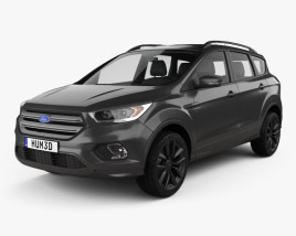 3D model of Ford Kuga 2016