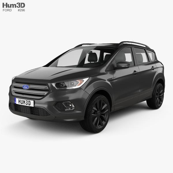 3D model of Ford Kuga 2016