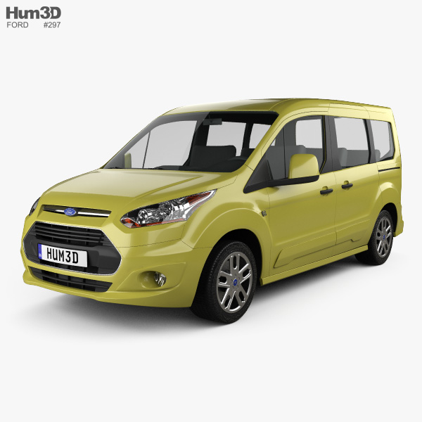 Ford Tourneo Connect SWB 2013 3D model