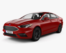 3D model of Ford Fusion (Mondeo) Sport 2015