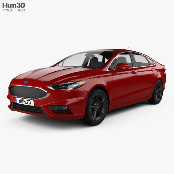 Ford Fusion (Mondeo) Sport 2015 3D-Modell