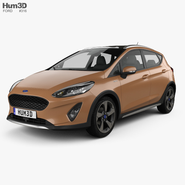 Ford Fiesta Active 2017 3D model