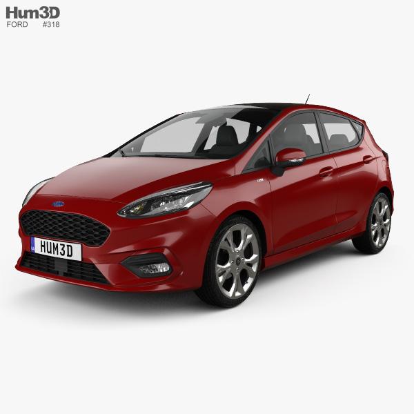 Ford Fiesta ST-Line 2017 3D model