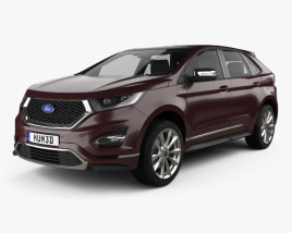 Ford Edge Vignale 2016 3D model