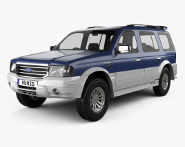 3D model of Ford Everest 2003