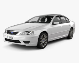 3D model of Ford Falcon Fairmont 2005